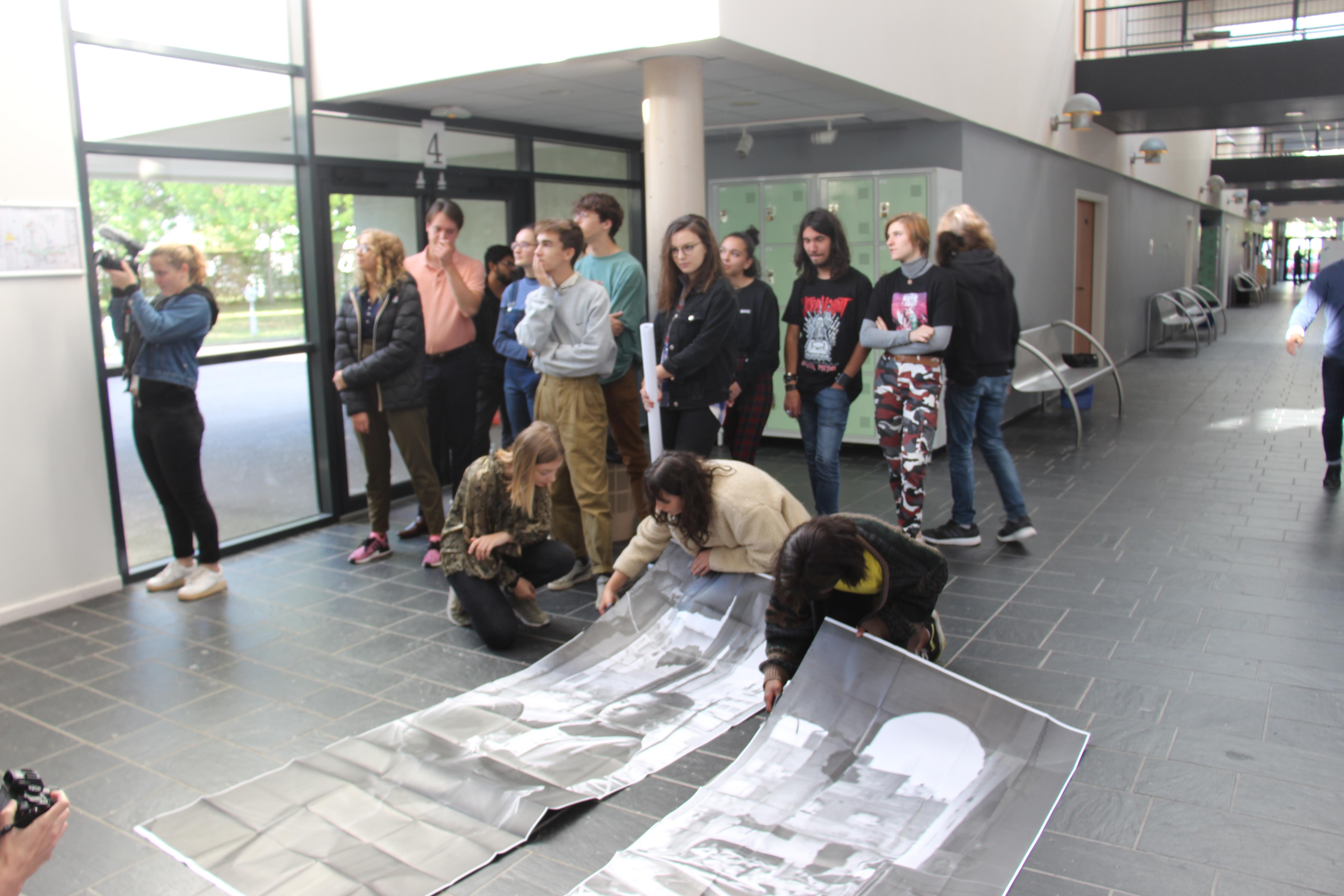 Rencontre avec Dysturb : les TL en plein travail Crédits photographiques: Deborah Dubost-Sakhi