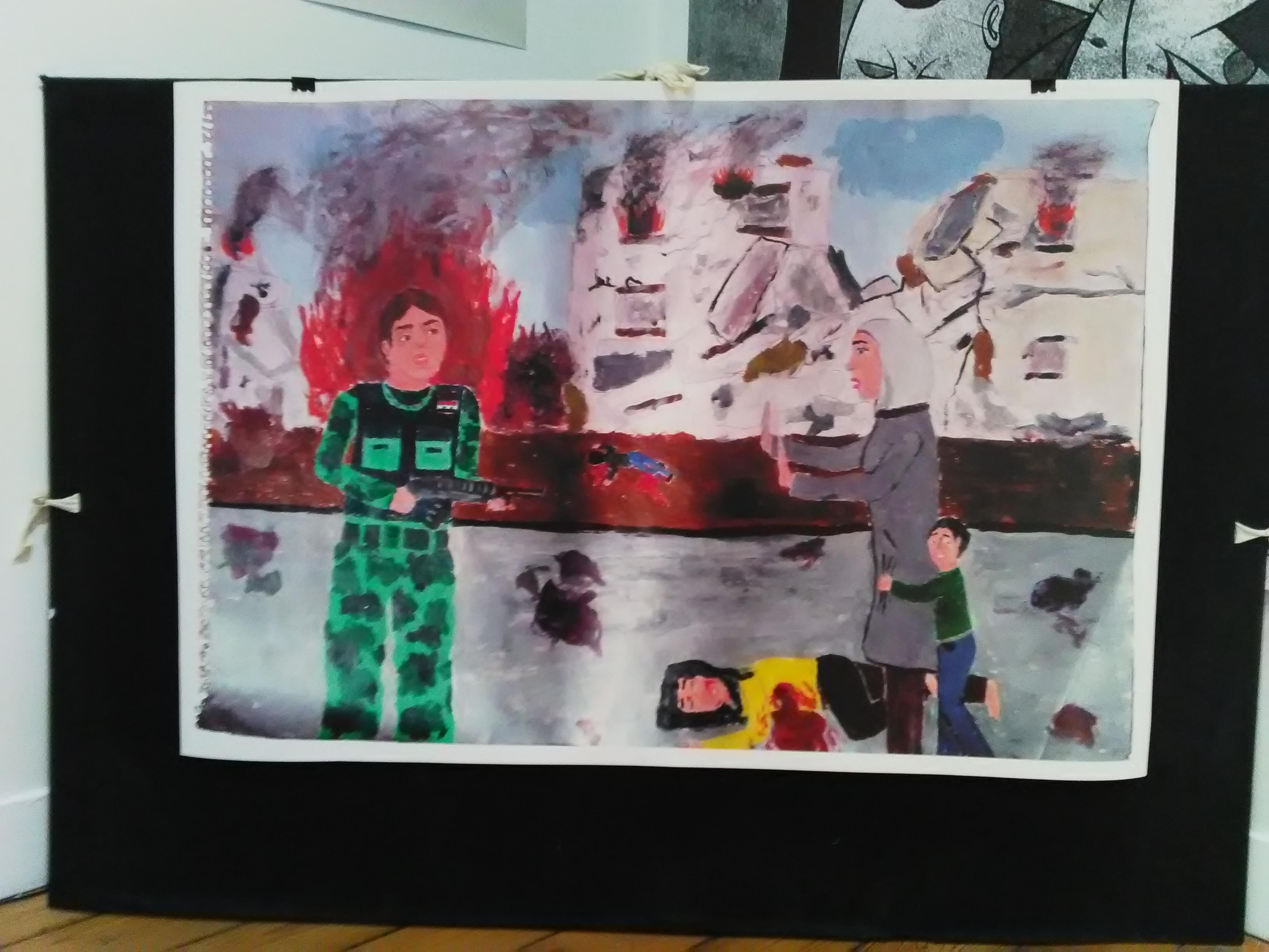Exposition Alep Machine Crédits photographiques: Deborah Dubost-Sakhi