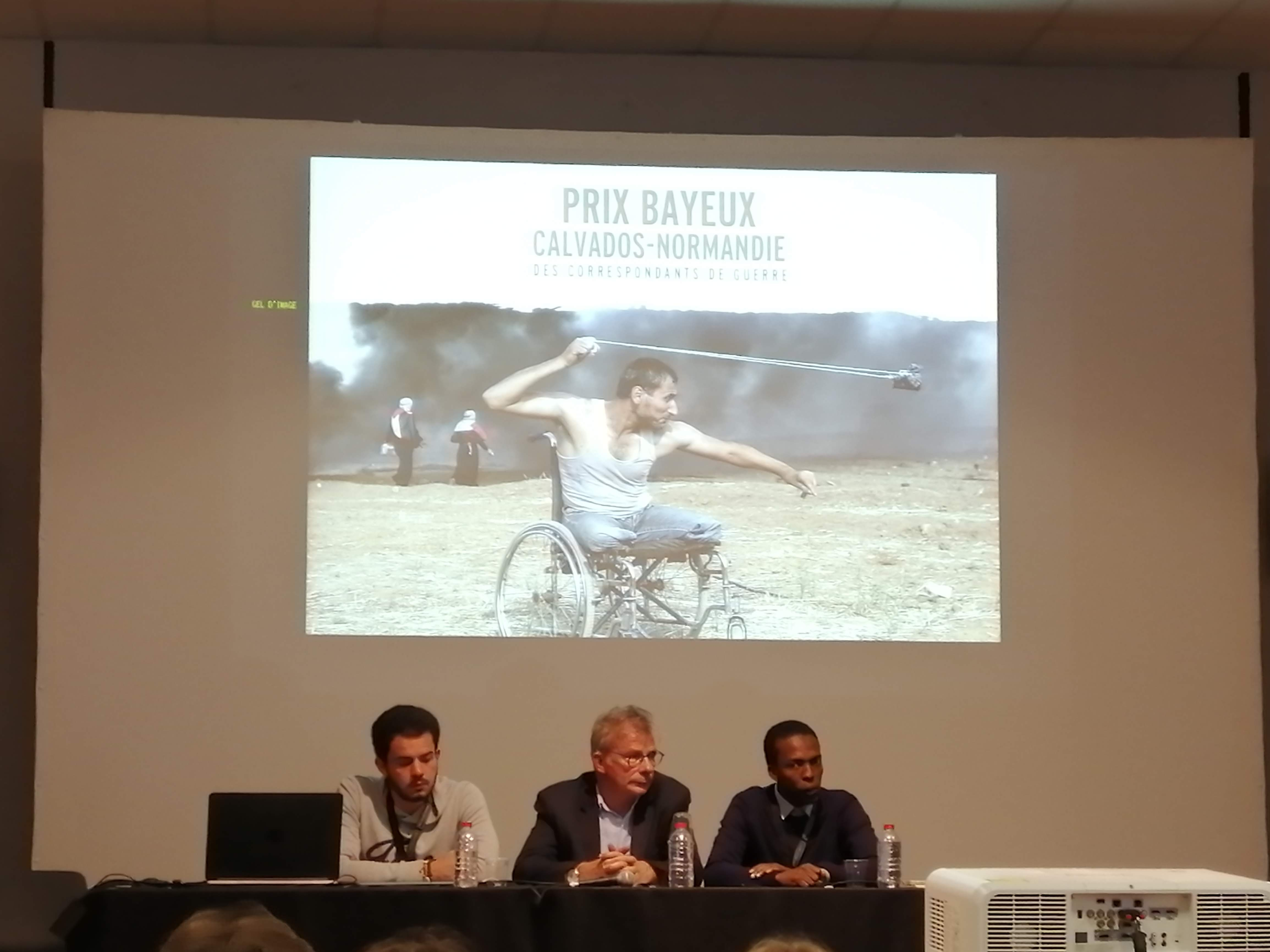 Rencontre avec la Maison des Journalistes Crédits photographiques: Mathilde Laurent